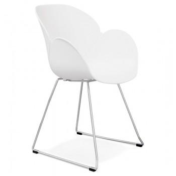 Krzesło TESTA - Białe