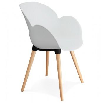 Krzesło SITWEL - Białe