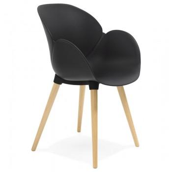 Krzesło SITWEL - Czarne