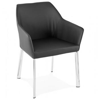Krzesło LIVINGSTON - Czarne