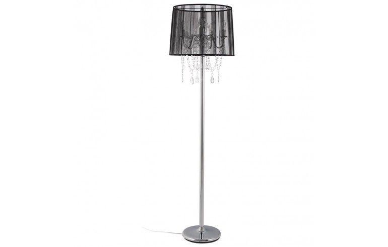 Kokoon Design - Lampa podłogowa LOUNGE - Czarna