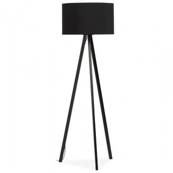 Lampa podłogowa TRIVET - Czarna