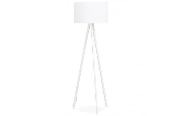 Kokoon Design - Lampa podłogowa TRIVET - Cała Biała
