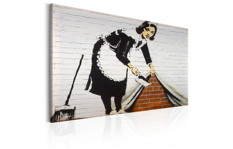 Obraz - Maid in London by Banksy