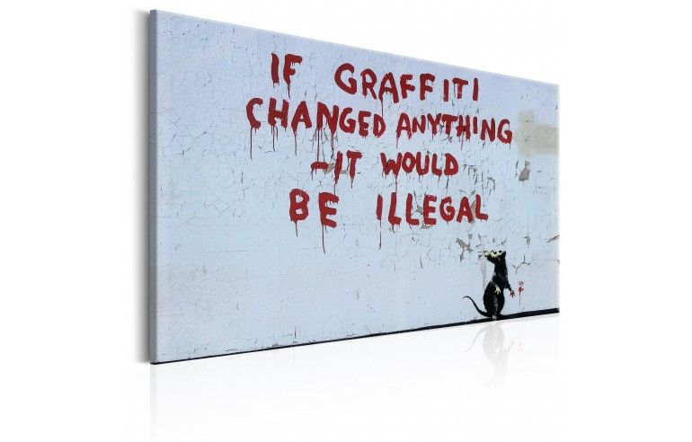 Obraz - If Graffiti Changed Anything...