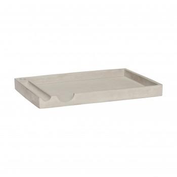 Organizer na biurko, beton Hübsch