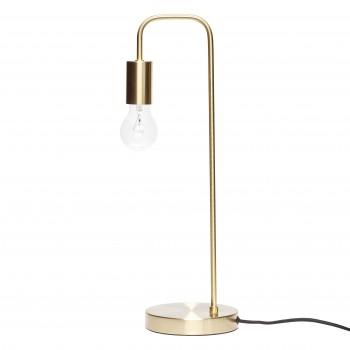 Lampa stołowa, mosiądz Hübsch