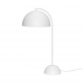 Lampa stołowa, metal, biały Hübsch