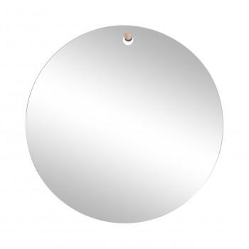Lustro ścienne z otworem, haczyk, okrągłe Hübsch