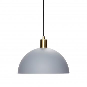 Lampa wisząca, mosiądz / szary Hübsch