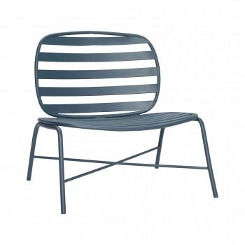 Fotel, metal, zielony Hübsch
