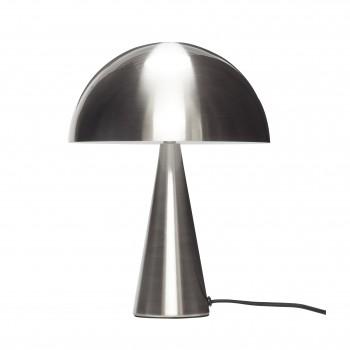 Lampa stołowa, metal, nikiel Hübsch - 33cm