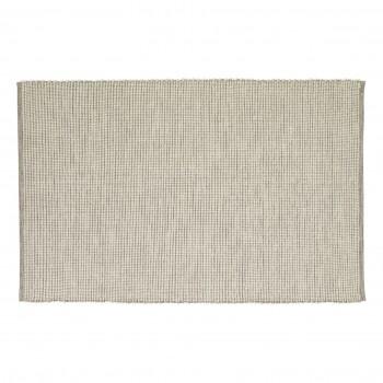 Dywan tkany, bawełniany, szaro-biały Hübsch