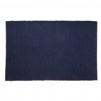 Dywan tkany, niebieski Hübsch
