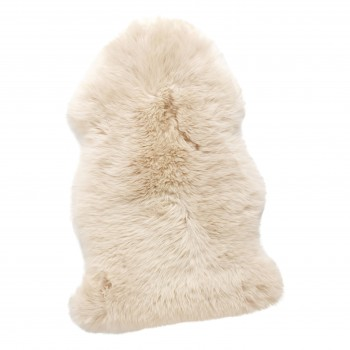 Dywan ze skóry owczej, krótkowłosy, biały Hübsch