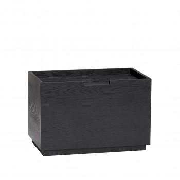Pudełko drewniane, jesion, czarne Hübsch