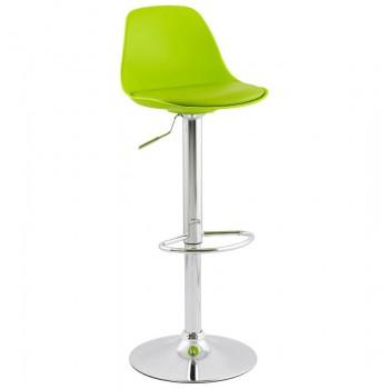 Krzeso barowe,hoker SUKI - Zielony