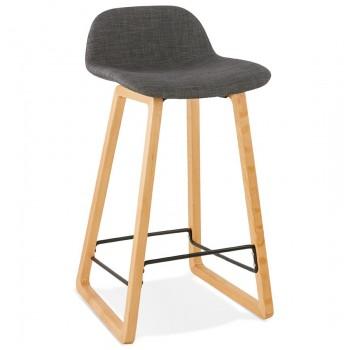 Krzeso barowe,hoker TRAPU MINI - Ciemno-szary