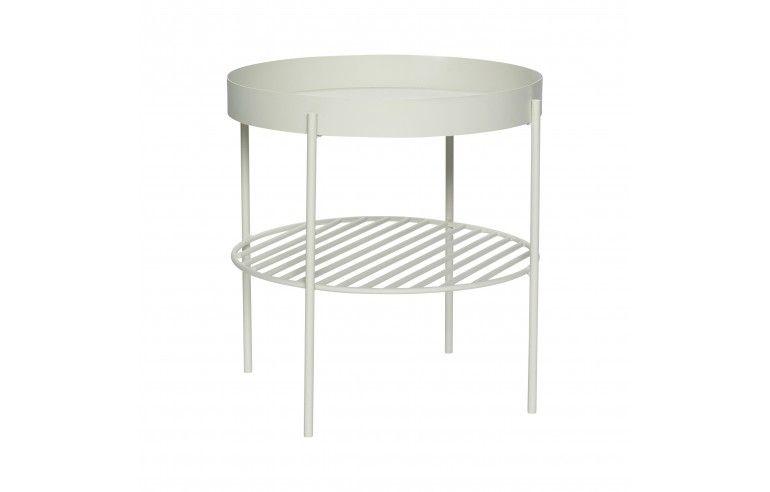 Metalowy stolik kawowy w stylu...