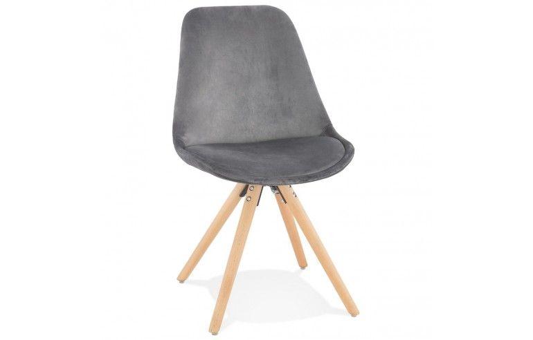 Kokoon Design - Krzesło designerskie JONES - Szary