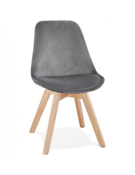 Kokoon Design - Krzesło designerskie PHIL - Szary