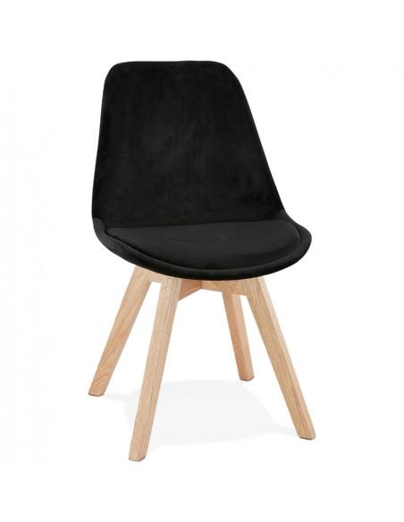 Kokoon Design - Krzesło designerskie PHIL - Czarny