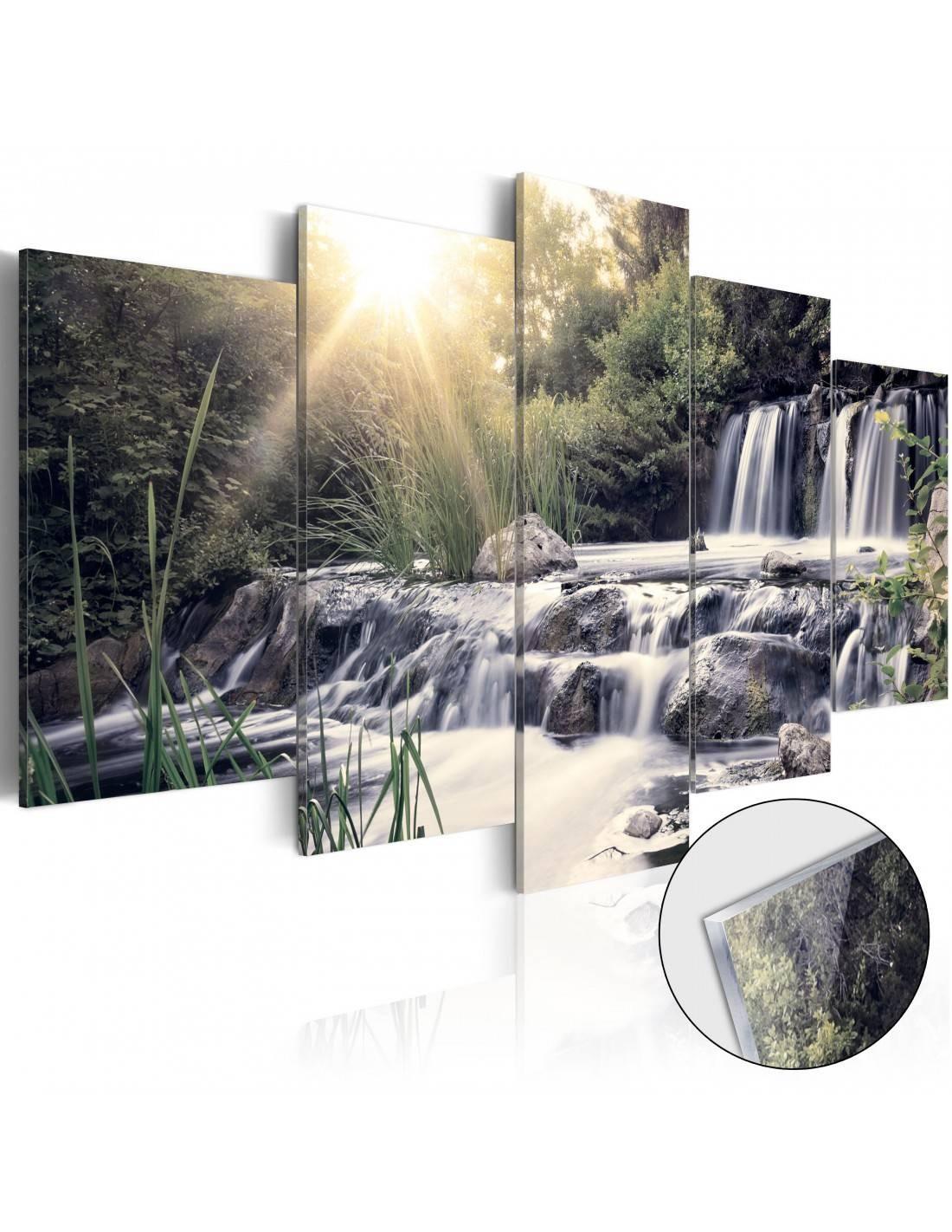 Obrazy wodospady