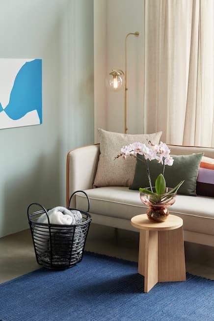 Kolory w salonie skandynawskim