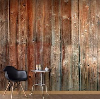 Fototapeta imitująca drewno