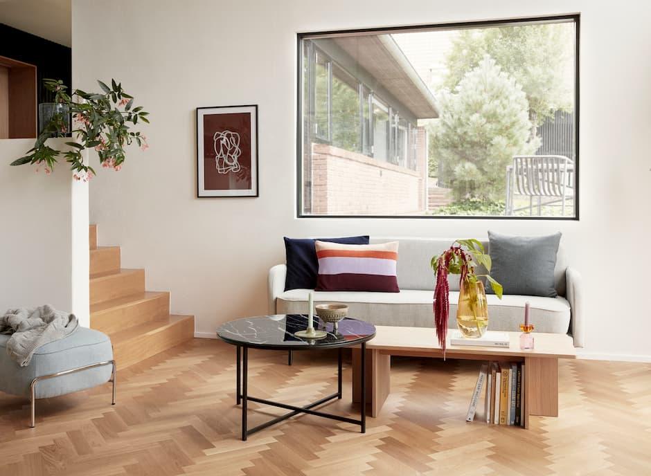 Aranżacja salonu w stylu skandynawskim