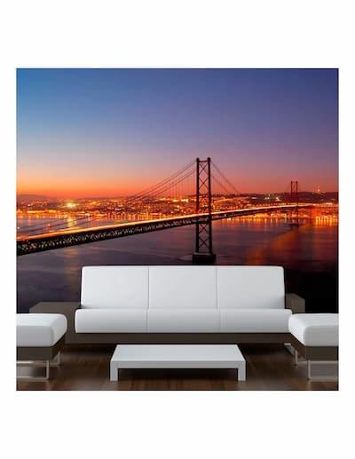 Fototapeta most San Fracisco na ścianie w salonie