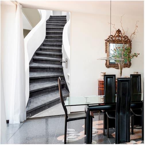 fototapety na drzwi schody