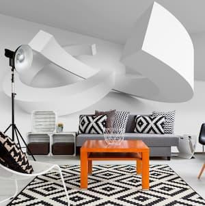 Fototapeta przestrzenna 3D w salonie