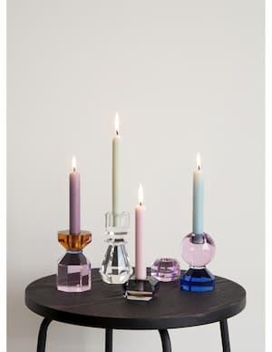 Nowoczesne świeczniki na stół w Lofty-Home
