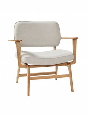 Nowoczesny fotel marki Hubsch