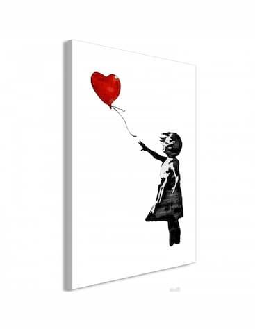 Obraz Banksy'ego dziewczynka z balonikiem