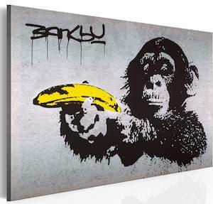 obraz banksy małpy