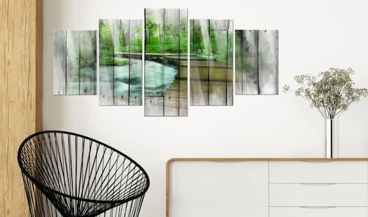 Obrazy na szkle akrylowym do salonu