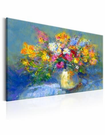 Obrazy ręcznie malowane kwiaty
