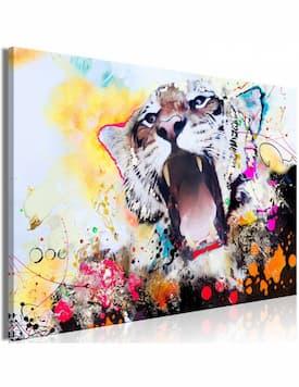 Ryczący tygrys